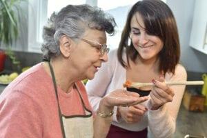 Elder Care Deerfield Beach FL - Parkinson's Disease Cooking and Eating Tips